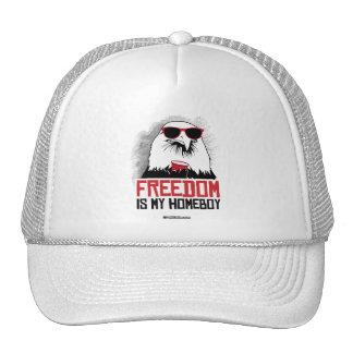 Freedom is my Homeboy Trucker Hat