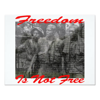 Freedom Is Not Free #002 Card
