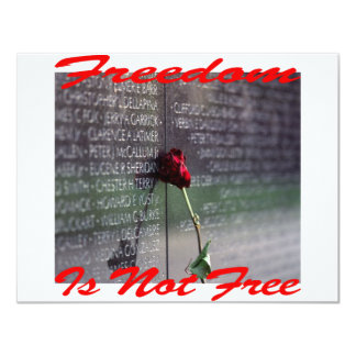 Freedom Is Not Free #004 Card