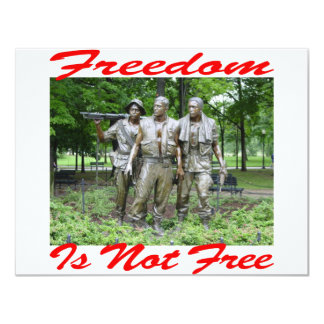 Freedom Is Not Free #005 Announcements