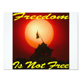 Freedom Is Not Free #007 Card