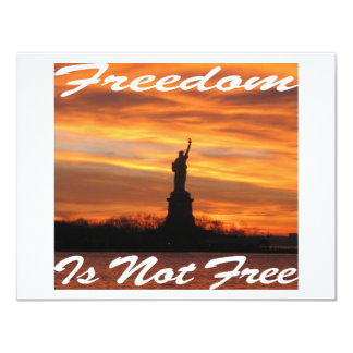 Freedom Is Not Free #008 Card
