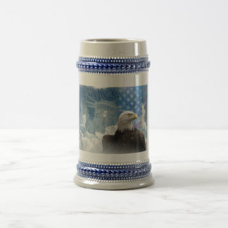 Freedom Is Not Free Beer Stein