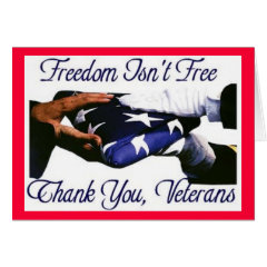 freedom_is_not_free greeting cards