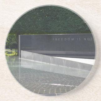 Freedom is Not Free - Korean War Memorial.JPG Drink Coaster