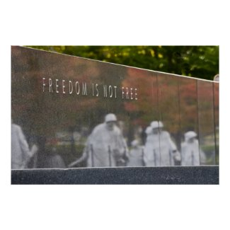 Freedom Is Not Free print