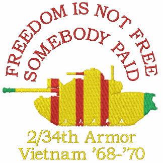 Freedom Is Not Free - Somebody Paid Shirt Embroidered Hoodie