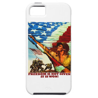 Freedom Is Not Given; It Is Won iPhone 5 Cover