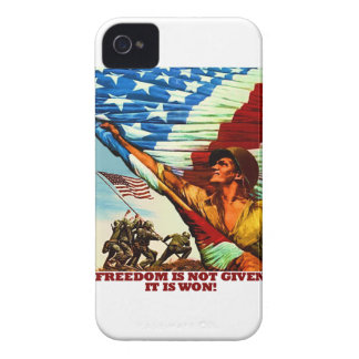 Freedom Is Not Given; It Is Won Case-Mate iPhone 4 Case