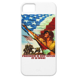 Freedom Is Not Given; It Is Won iPhone 5 Cases