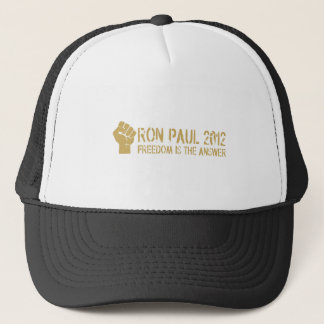 FREEDOM-IS-THE-ANSWER TRUCKER HAT