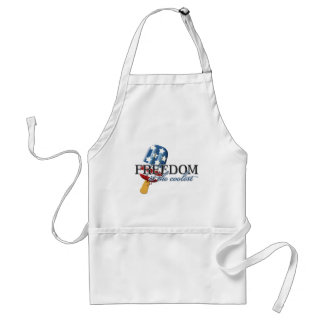 Freedom is the Coolest Adult Apron