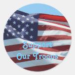 Freedom Isn't Free Classic Round Sticker