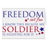 Freedom isn't Free Greeting Card