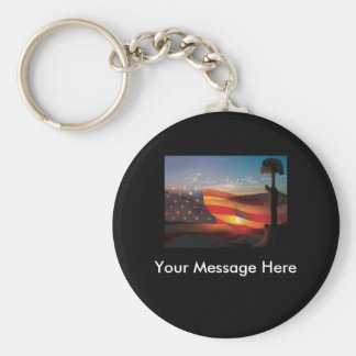 Freedom Isnt Free Keychain