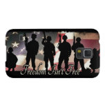 Freedom Isnt Free Military Soldier Silhouette Galaxy S5 Cover