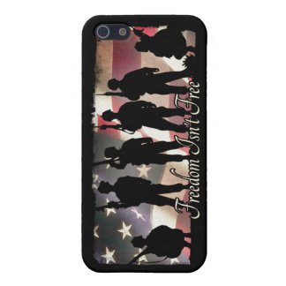 Freedom Isnt Free Military Soldier Silhouette Cover For iPhone 5