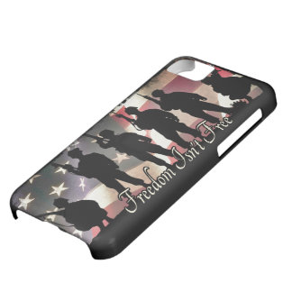 Freedom Isnt Free Military Soldier Silhouette iPhone 5C Cover