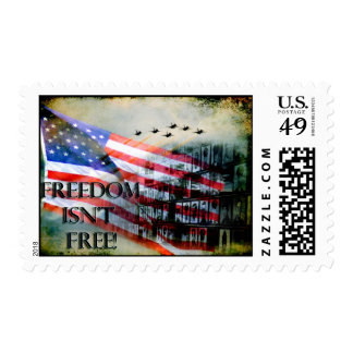 Freedom Isn't Free Stamp