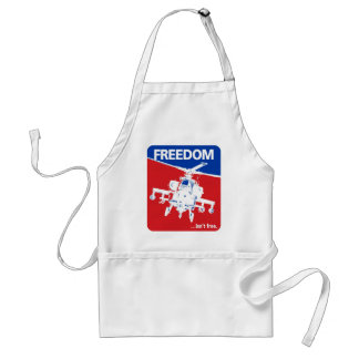 Freedom is't Free - Helicopter Adult Apron
