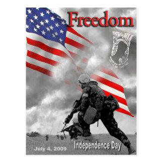 Freedom July 4, 2009 Postcard