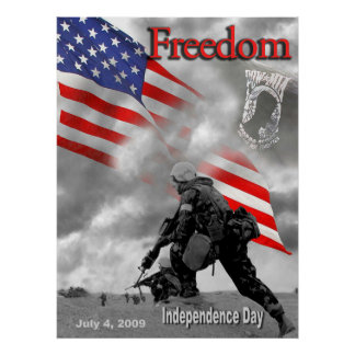 Freedom July 4, 2009 Poster