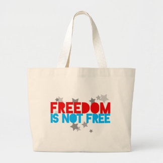 Freedom Large Tote Bag
