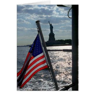 Freedom, Liberty (blank inside) Card