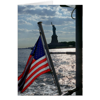 Freedom, Liberty (blank inside) Stationery Note Card