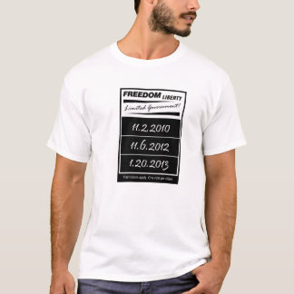 Freedom Liberty Limited Government T-Shirt