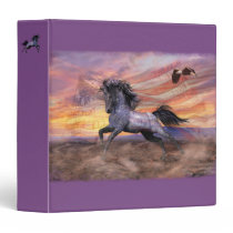 Freedom Mustang Horse Binder