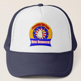 Freedom Not Fear Democrat Hat