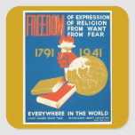 Freedom of Expression Sticker