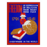 Freedom of Expression ~ Vintage Poster