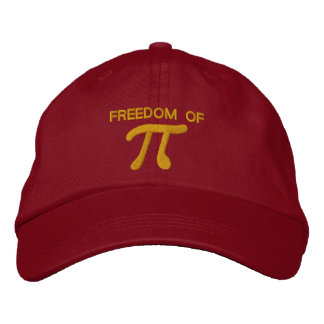 Freedom of Pi Embroidered Hat