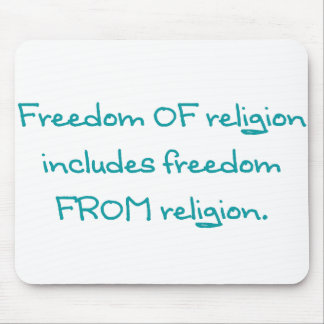 Freedom of religion mousepads
