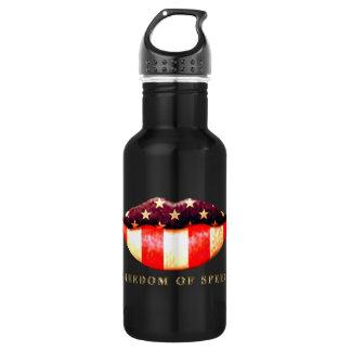 Freedom of Speech 18oz Water Bottle