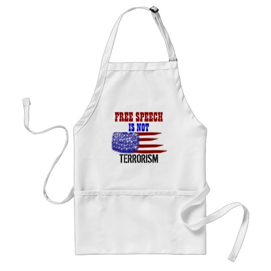 Freedom of Speech Adult Apron