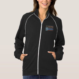 Freedom of Speech and Opnion UDHR Article 19 American Apparel Fleece Track Jacket