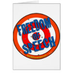 Freedom of Speech Greeting Cards