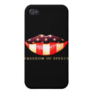 Freedom of Speech iPhone 4/4S Cover