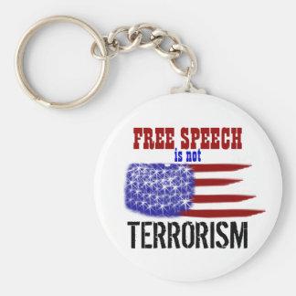 Freedom of Speech Keychain