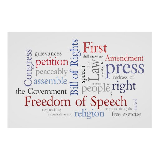 a discussion of the freedom of free will in the bill of rights As part of this, the us cannot establish a religion nor prevent free exercise of   the english bill of rights, however, does not include many of the protections  found  role the freedom of the press in the us constitution and discuss  violations.