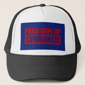 Freedom of Speech Maybe Not So Trucker Hat