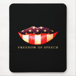 Freedom of Speech Mouse Pad