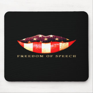 Freedom of Speech Mouse Pads