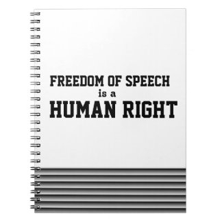 Freedom of Speech Notebook