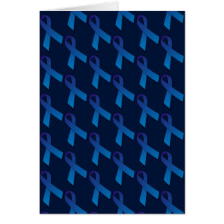 freedom of speech online Blue Ribbon Awareness Card