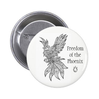 Freedom of the Phoenix Voyager Button