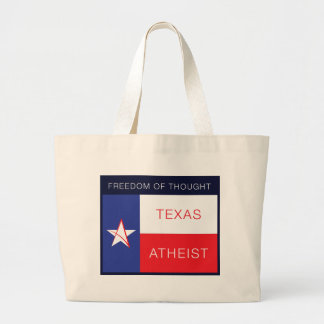Freedom of thought canvas bags